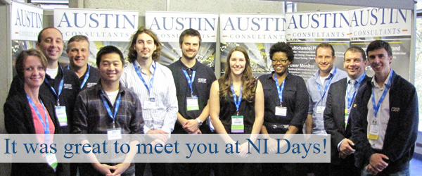 It was great to meet you at NI Days!