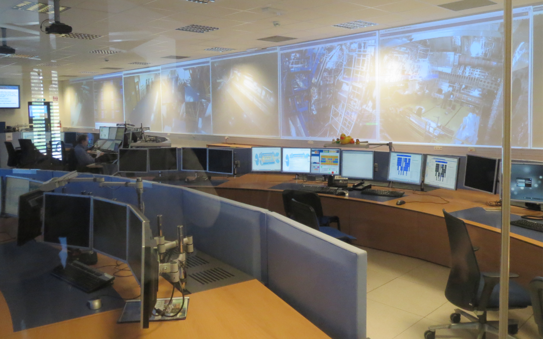 CERN Certified LabVIEW Architect Summit 2014, Control Room