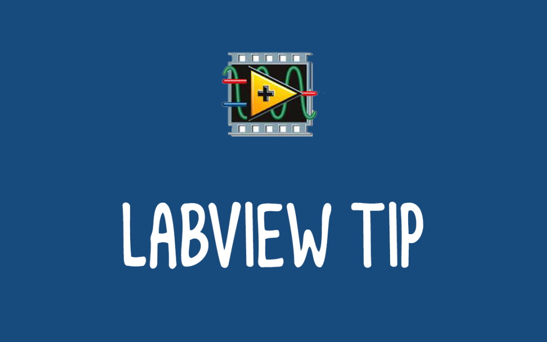 LabVIEW Tip: Bookmarks