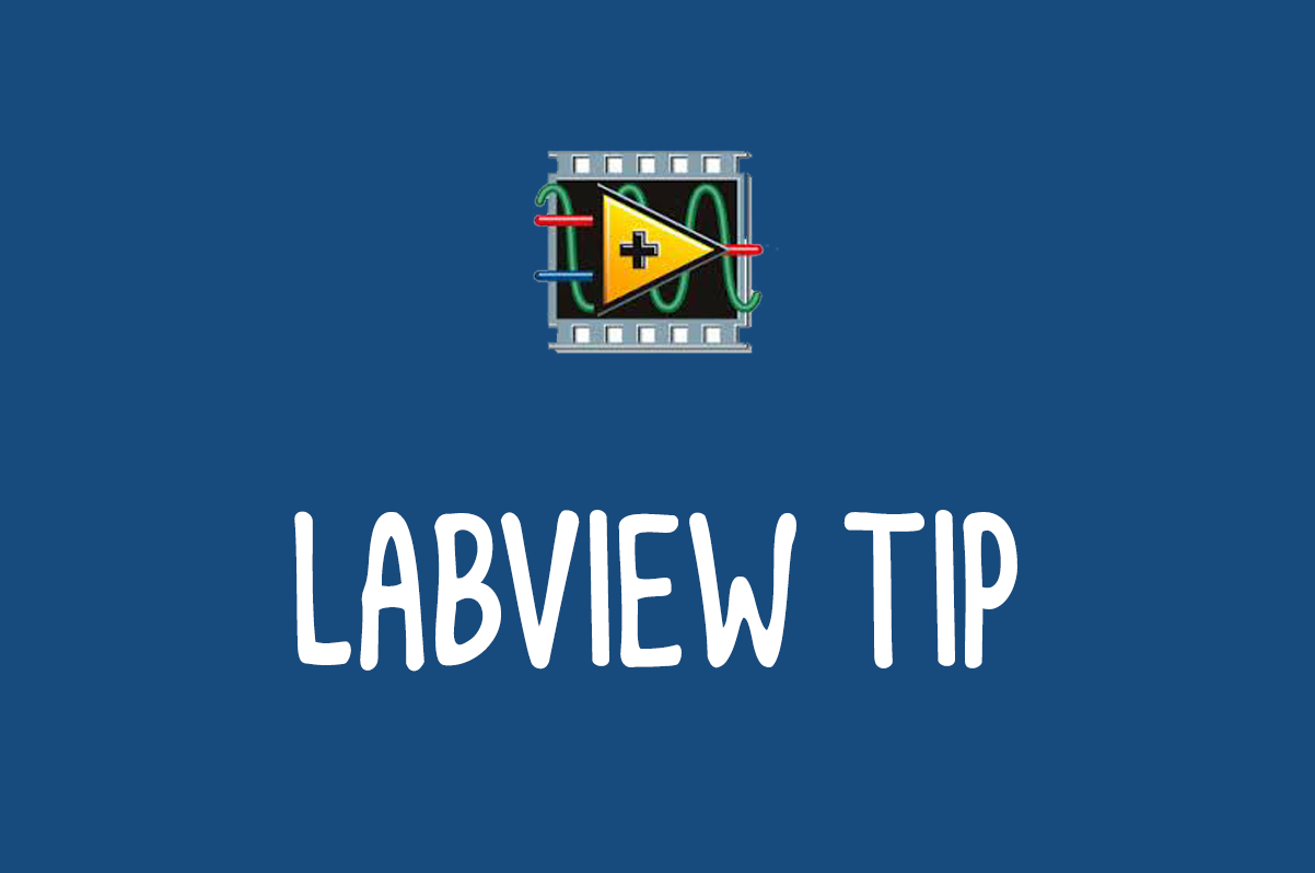 LabVIEW Tip: Delete a SubVI/node without reconnecting wires