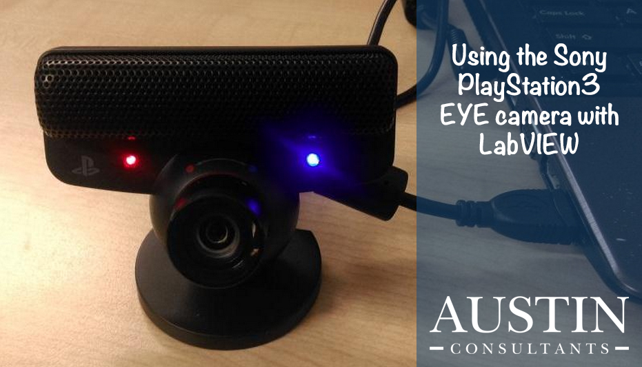 LabVIEW Tip: Using the Sony PlayStation3 EYE camera with LabVIEW