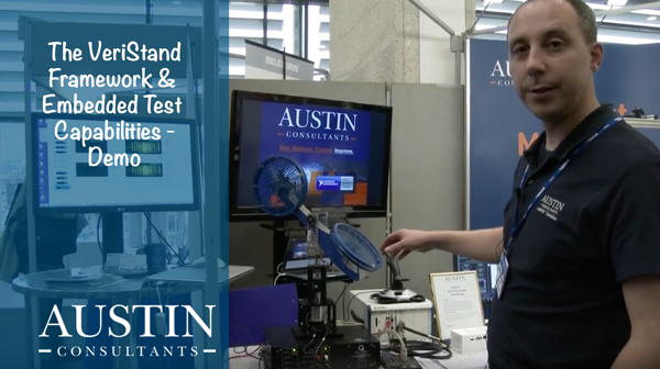 The VeriStand framework and embedded test capabilities demo