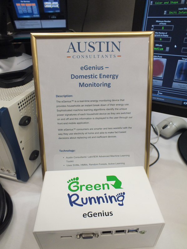 Austin Consultants eGenius Domestic Energy Monitoring Device IoT Demo
