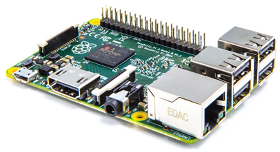 Low cost hardware - Raspberry Pi