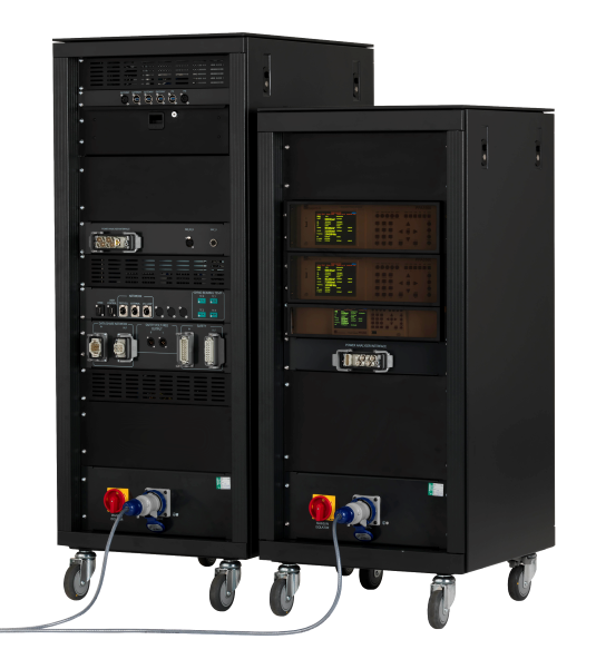 EVolution Electric Vehicle Test Cell Control and Data Acquisition System and Power Analyser Rack - REAR